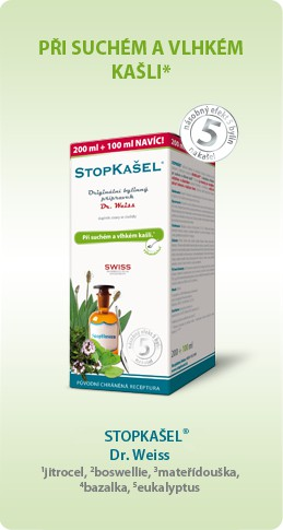STOPKAŠEL ® Dr. Weiss -sirup