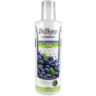 Dr Berry Naturals – Borůvkové mléko na tělo a ruce – 250 ml