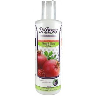 Dr Berry Naturals – Mléko na tělo a ruce s granátovým jablkem – 250 ml
