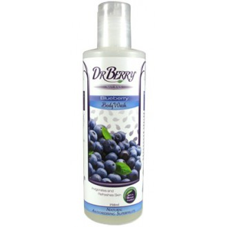 Dr Berry Naturals – Borůvkový sprchový gel – 250 ml