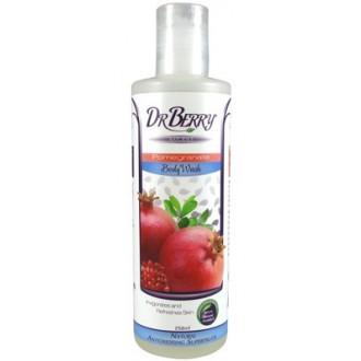 Dr Berry Naturals – Sprchový gel s granátovým jablkem – 250 ml