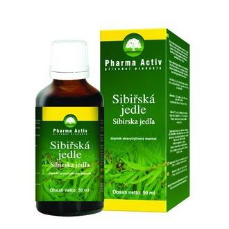 Výrobky podle značek - Pini Sibirica - Olej ze sibiřské jedle bělokoré
