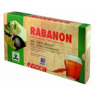 Rabanon Bio - 100% šťáva z černé ředkve