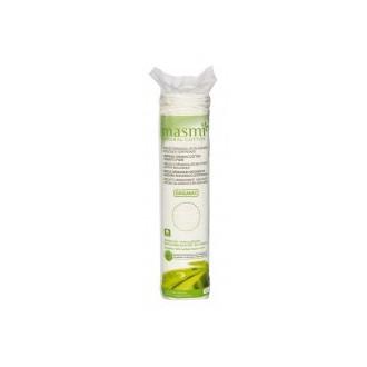 Kosmetické vatové polštářky z organické bavlny Masmi, 80 ks