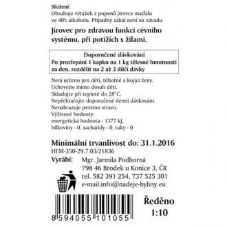 Jírovec maďal - výtažek z pupenů