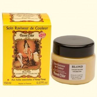 Henna regenerační a výživná maska zlatá blond