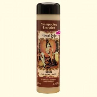 Henna šampon hnědá