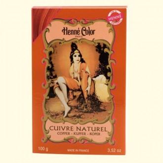 Henna prášková barva: měděná