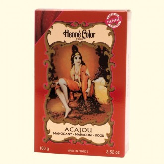 Henna prášková barva: mahagon