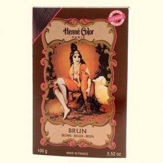 Henna prášková barva: hnědá