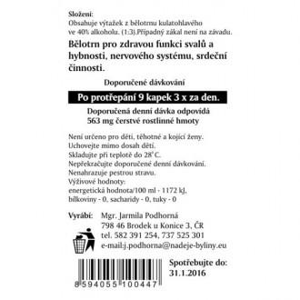 Bělotrn kulatohlavý - výtažek z byliny