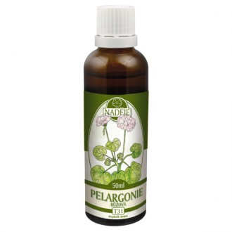 Pelargonie - výtažek z byliny