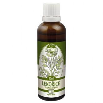 Lékořice (sladké dřevo) - výtažek z byliny