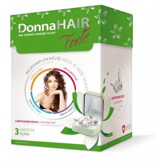 Donna HAIR FORTE 3měs.kúra tob90+náuš.Swarovski