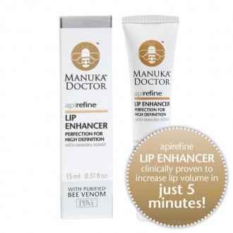 Manuka Doctor apirefine - Lip Enhancer s manukovým medem a čištěným včelím jedem