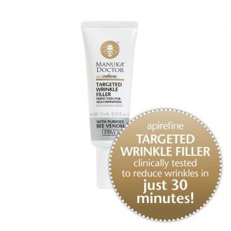 Targeted Wrinkle Filler s manukovým medem a čištěným včelím jedem ApiRefine 15 ml