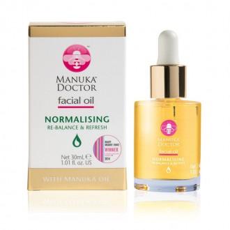 Výrobky podle značek - Manuka Doctor obličejový olej – Normalising s manukovým olejem