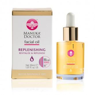 Výrobky podle značek - Manuka Doctor obličejový olej - Replenishing s manukovým olejem
