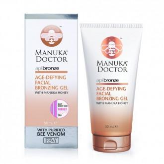 ApiBronze Age-Defying Facial Bronzing Gel - Samoopalovací  gel na obličej proti stárnutí 50ml