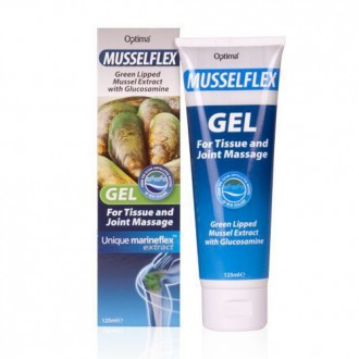 Výrobky podle značek - Gel na bolest kloubů -Extrakt ze slávky zelenoústé s glukosaminem – 125 ml