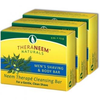 Pánské Nimbové mýdlo na holení a čištění pleti