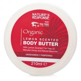 Tělové máslo S CITRONOVOU VŮNÍ - LEMON SCENTED BODY BUTTER 210 ML