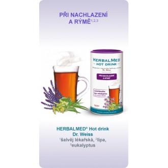 HERBALMED® Hot drink Dr. Weiss - PŘI NACHLAZENÍ A RÝMĚ*