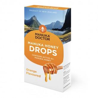 Výrobky podle značek - Bonbóny s 15+ manukovým medem – příchuť pomeranč