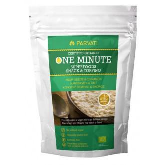 One Minute Superfoods Snack & Topping - KONOPNÉ SEMÍNKO & SKOŘICE