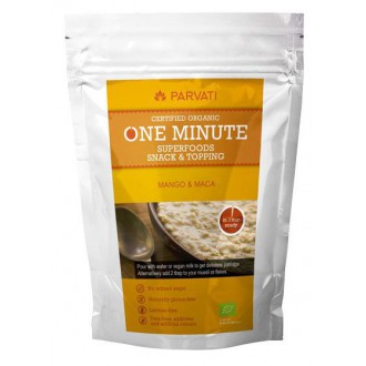 One Minute Superfoods Snack & Topping - MANGO & MACA