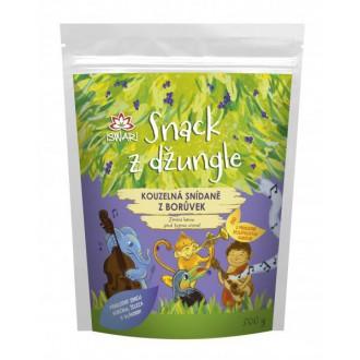 Dětská snídaně Snack z džungle BIO - KOUZELNÁ SNÍDANĚ Z BORŮVEK 300g