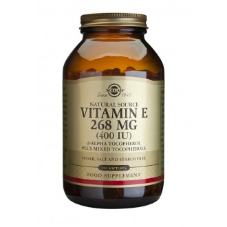 Solgar Vitamín E 400 iu 250 cps.
