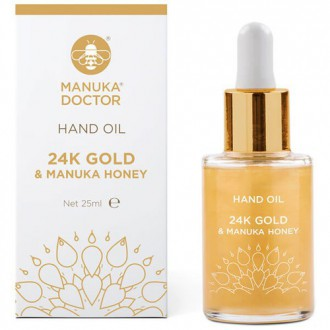 24K Gold & Manuka Honey Hand Oil 25ml - Olej na ruce