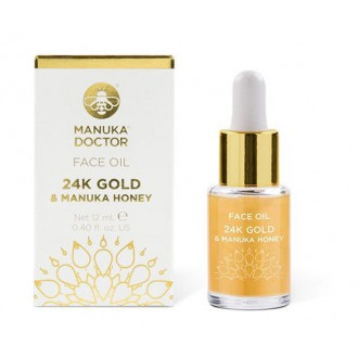 24K Gold & Manuka Honey Face Oil 12ml - olej na obličej