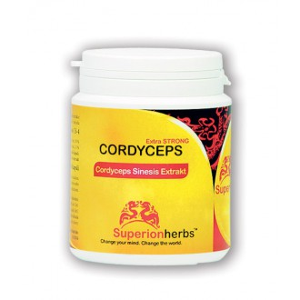 Cordyceps, Extrakt 40% polysacharidů, 15% manitolu 90 cps