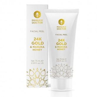 Výrobky podle značek - Peeling s Manukovým medem a 24K zlatem 75 ml
