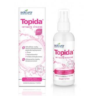 Výrobky podle značek - TOPIDA SPREJ pro intimní hygienu