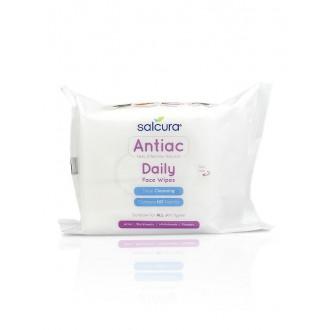 Výrobky podle značek - Antiac Daily Face Wipes - čistící ubrousky na obličej