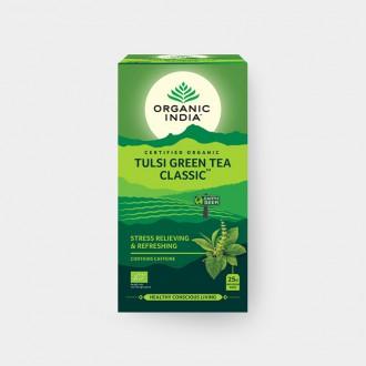Tulsi se zeleným čajem BIO, 25 sáčky - Bio - Organic India
