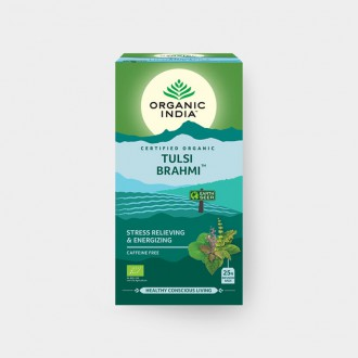Tulsi Brahmi BIO, 25 sáčky - Bio - Organic India