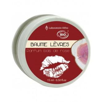 Růžové dřevo - Balzám na rty BIO 15 ml