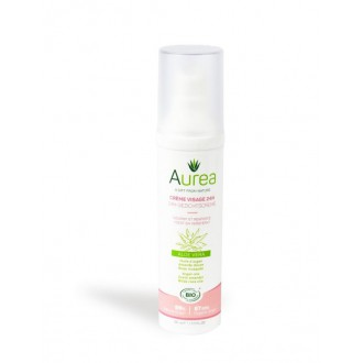 Aurea 24-hodinový obličejový hydratační krém aloe vera 50 ml