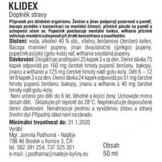 Klidex 50ml