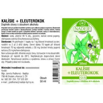 Kalísie - eleuterokok 50ml