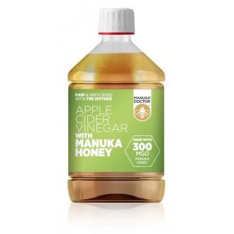 Jablečný ocet s Manukovým medem 300 MGO – 500 ml