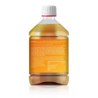 Jablečný ocet s Manukovým medem 300 MGO a zázvorem – 500 ml