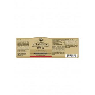 Solgar Vitamín K2 100 ug
