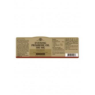 Solgar Pupalkový olej 500mg 180 cps.