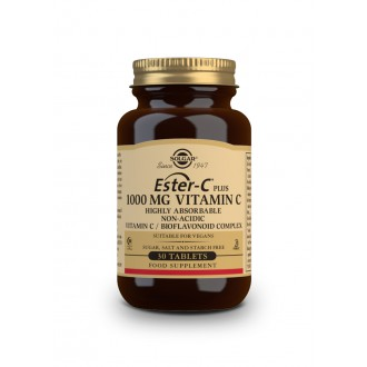 Solgar Vitamín C - Ester-C Plus 1000 mg 30 tbl