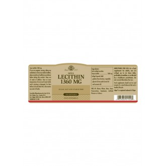 Solgar Lecitin 1360mg